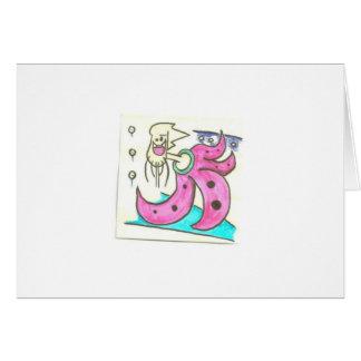 Squid Guy Card