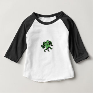 squid kid green baby T-Shirt