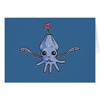 Squid Love Card