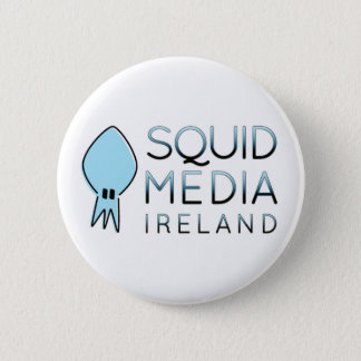 Squid Media Badge 2 Inch Round Button
