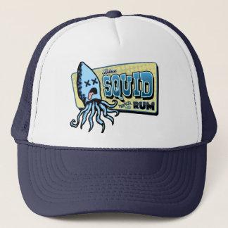 Squid Rum Trucker Hat