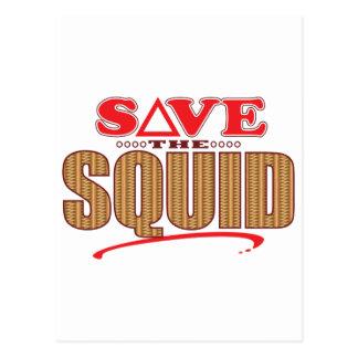 Squid Save Postcard