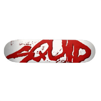 Squid Skateboard Deck