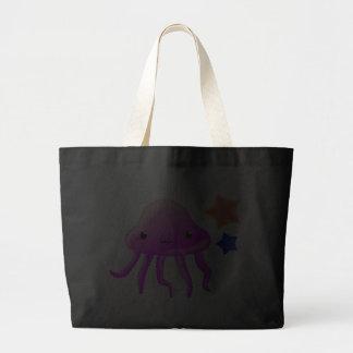 squid star fish hot summer tote bag