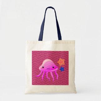squid star fish hot summer bag