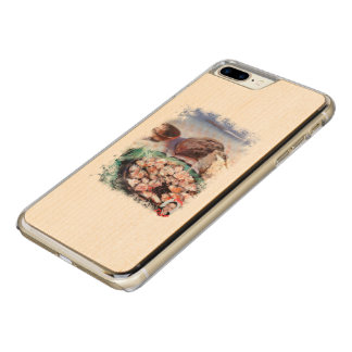 Squid to Gallego/Dust to feira/Galician octopus Carved iPhone 8 Plus/7 Plus Case