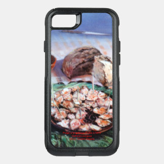 Squid to Gallego/Dust to feira/Galician octopus OtterBox Commuter iPhone 8/7 Case
