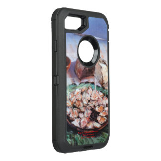 Squid to Gallego/Dust to feira/Galician octopus OtterBox Defender iPhone 8/7 Case