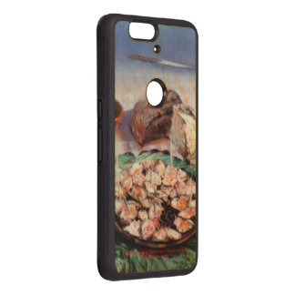 Squid to Gallego/Dust to feira/Galician octopus Wood Nexus 6P Case