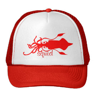 Squid Trucker Hat