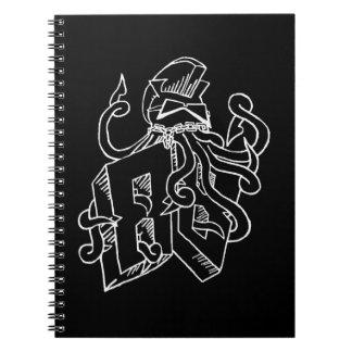 Squid Vicious Class of 1988 Dark Notebook