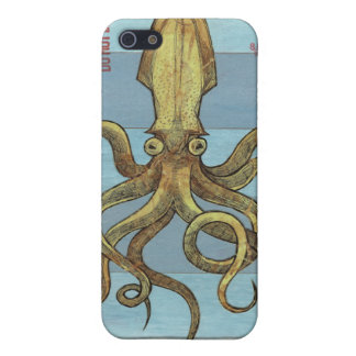 SQUIDS OF THE DEEP IPHONE 4 CASE