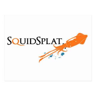 squidsplat logo postcard