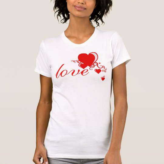 squiggle hearts. T-Shirt