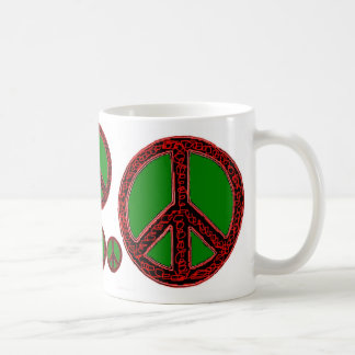 Squiggle Peace Coffee Mug