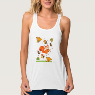 Squirell Tank Top