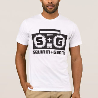 Squirm and Germ Official Boombox Logo T-Shirt