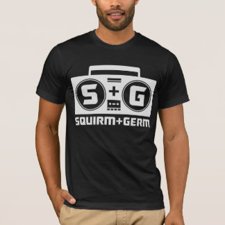 Squirm and Germ Official Boombox T-Shirt (Black)