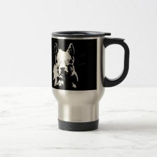 Squirrel 15 Oz Stainless Steel Travel Mug