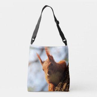 Squirrel Animal Wildlife Crossbody Bag