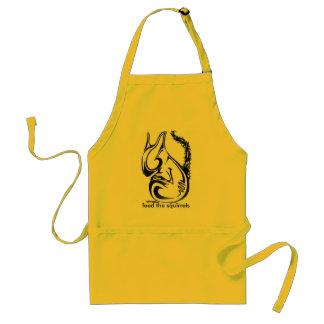 squirrel apron