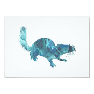 Squirrel art card