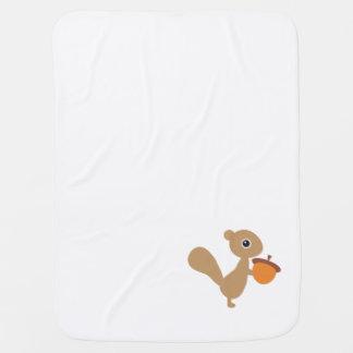 Squirrel Baby Blanket