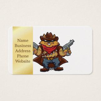 Squirrel Bandit Business Card