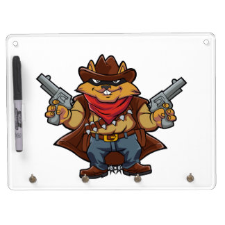 Squirrel Bandit Dry Erase Whiteboard