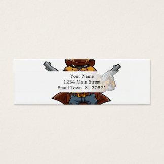 Squirrel Bandit Mini Business Card