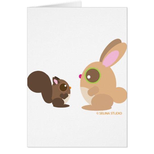 squirrel+bunny card