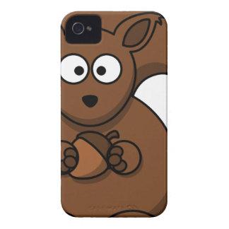 Squirrel Cartoon iPhone 4 Cases