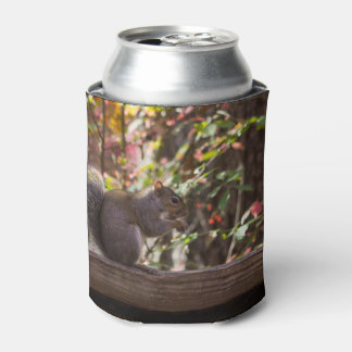Squirrel Chow Time Can Cooler
