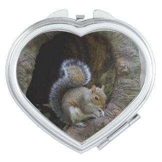 Squirrel Compact Mirror