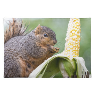Squirrel Corn Placemat