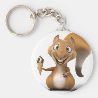 squirrel design keychain