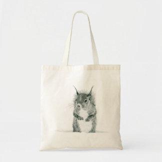 Squirrel Drawing Bag