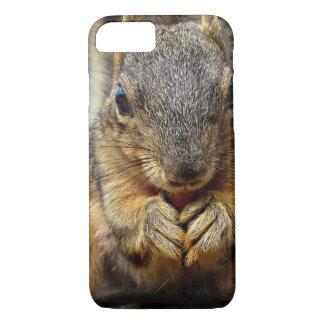 Squirrel Eating 1 iPhone 8/7 Case