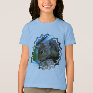 Squirrel Face Girl's T-Shirt