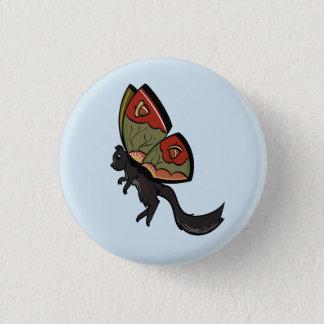 Squirrel Fairy 1 Inch Round Button
