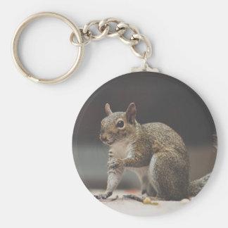 Squirrel Fluffy Keychain