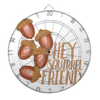 Squirrel Friend Dartboard