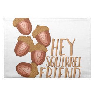 Squirrel Friend Placemats