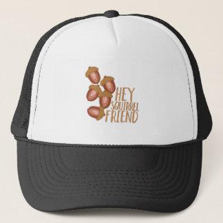Squirrel Friend Trucker Hat
