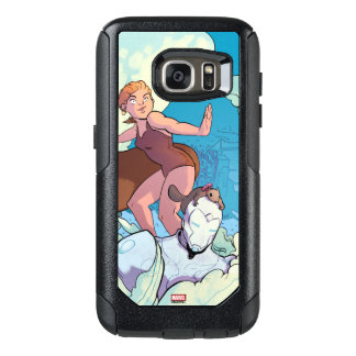 Squirrel Girl Flying With Superior Iron Man OtterBox Samsung Galaxy S7 Case
