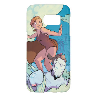 Squirrel Girl Flying With Superior Iron Man Samsung Galaxy S7 Case
