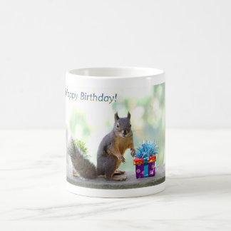 Squirrel Happy Birthday! Coffee Mug