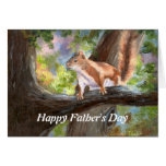 Squirrel Here's Looking At You Father's Day Card