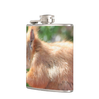 Squirrel Hip Flask
