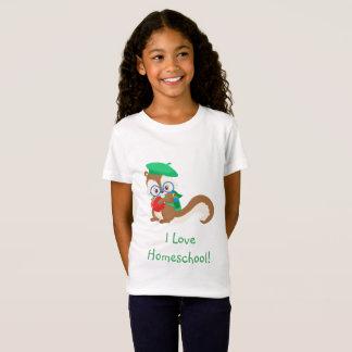 Squirrel Homeschool T-Shirt